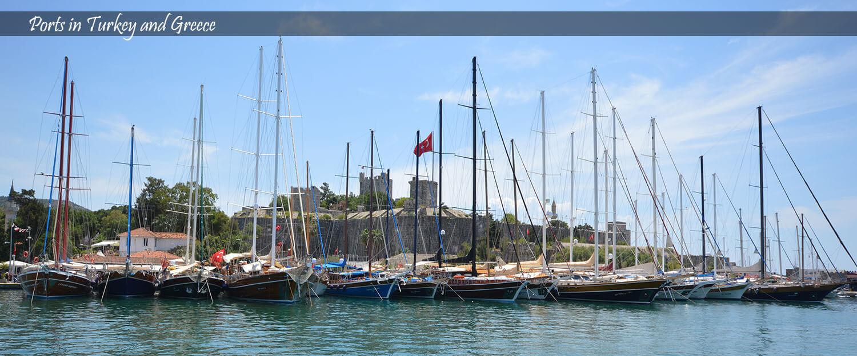 Gulet Turkey - Ports